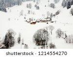 winter in schwarzwald....   Shutterstock . vector #1214554270