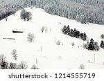 winter in schwarzwald. the...   Shutterstock . vector #1214555719