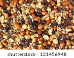 All Natural Homemade Trail Mix...