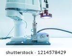 robotic vision sensor camera... | Shutterstock . vector #1214578429