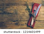 holiday christmas food... | Shutterstock . vector #1214601499