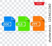 document file formats icon...