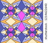 geometric seamless pattern....   Shutterstock .eps vector #1214622640