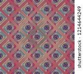doodle bisquit cookie or... | Shutterstock .eps vector #1214644249