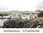 scarborough  north yorkshire ... | Shutterstock . vector #1214646106