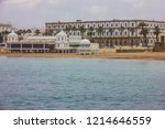 cadiz beach sea side  spain | Shutterstock . vector #1214646559