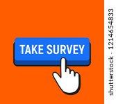 hand mouse cursor clicks the... | Shutterstock .eps vector #1214654833