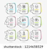 infographic timeline template.... | Shutterstock .eps vector #1214658529
