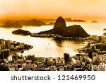 rio de janeiro  brazil. suggar... | Shutterstock . vector #121469950
