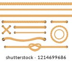 vector illustration set of... | Shutterstock .eps vector #1214699686