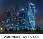 moscow   october 21  2018 ... | Shutterstock . vector #1214725873