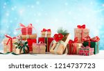 christmas or new year...   Shutterstock . vector #1214737723