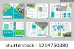 brochure creative design.... | Shutterstock .eps vector #1214750380