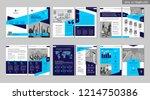 brochure creative design.... | Shutterstock .eps vector #1214750386