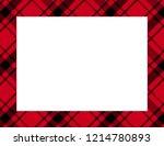 Plaid Tartan Frame To Use As A...