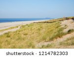 the beautiful beaches and sand... | Shutterstock . vector #1214782303