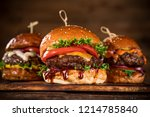 close up of home made tasty... | Shutterstock . vector #1214785840