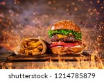 close up of home made tasty... | Shutterstock . vector #1214785879