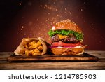 close up of home made tasty... | Shutterstock . vector #1214785903