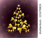 christmas tree. eps10 format. | Shutterstock .eps vector #121478824