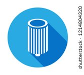 car oil filter icon with long... | Shutterstock .eps vector #1214804320