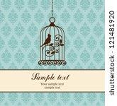 birdcage | Shutterstock .eps vector #121481920