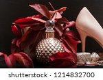 men's fragrance. men perfume....   Shutterstock . vector #1214832700