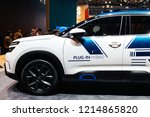 paris  france   oct 4  2018 ... | Shutterstock . vector #1214865820