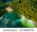 aerial top down view of... | Shutterstock . vector #1214868730