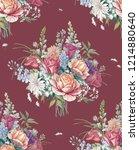 elegant flowers  elegant... | Shutterstock . vector #1214880640