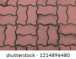 worm footpath walk textured  ...   Shutterstock . vector #1214896480