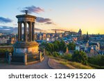 Landscape Of Calton Hill At...