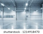roller shutter door and... | Shutterstock . vector #1214918470