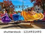 emporia  kansas  usa  october... | Shutterstock . vector #1214931493
