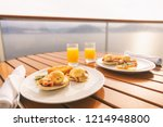 cruise ship vacation food... | Shutterstock . vector #1214948800