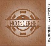 unconcerned wooden emblem....   Shutterstock .eps vector #1214949643