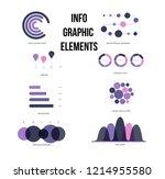 infographic elements  trendy... | Shutterstock .eps vector #1214955580