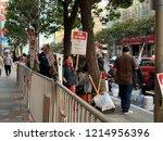 san franisco  ca   october 27 ... | Shutterstock . vector #1214956396