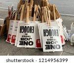 san franisco  ca   october 27 ... | Shutterstock . vector #1214956399