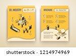 oil industry  petroleum... | Shutterstock .eps vector #1214974969