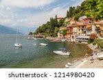 varenna   italy   july 2015 ... | Shutterstock . vector #1214980420