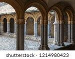 aosta   italy   july 2015 ... | Shutterstock . vector #1214980423