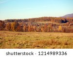 autumn colors in the mountains | Shutterstock . vector #1214989336