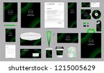 corporate identity set.... | Shutterstock .eps vector #1215005629