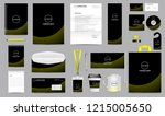 corporate identity set.... | Shutterstock .eps vector #1215005650
