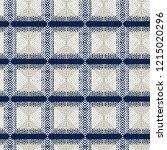 tribal  seamless pattern.... | Shutterstock . vector #1215020296