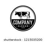 hand drawing vector livestock... | Shutterstock .eps vector #1215035200