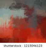 2d illustration. artistic... | Shutterstock . vector #1215046123