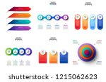 business data visualization.... | Shutterstock .eps vector #1215062623