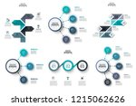 vector infographic design... | Shutterstock .eps vector #1215062626